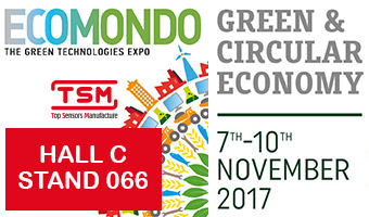 TSM SENSORS S.R.L. at Ecomondo 2017