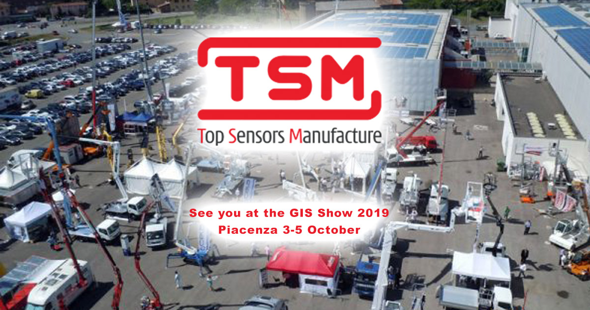 TSM Sensors participates in the GIS EXPO Italia fair
